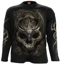 T-shirt Long sleeve DRACO SKULL