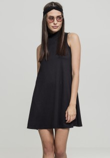 Ladies A-Line Turtleneck Dress Teri