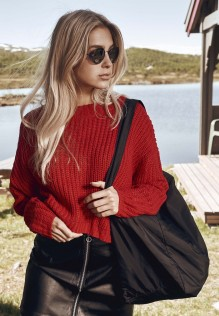 Ladies Wide Oversize Sweater Velma