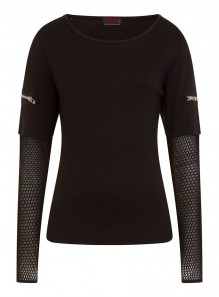 Ladies Top Long Sleeve METAL STREETWEAR