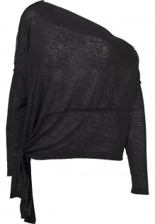 Ladies Asymmetric Sweater Amelie