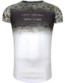 T-Shirt New York Camo
