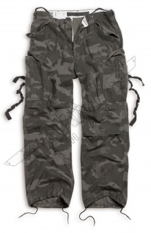 Army camo Vintage Fatigues Pants