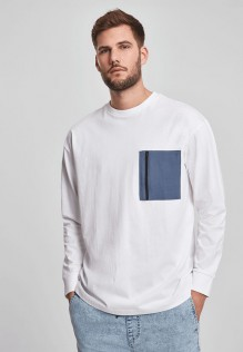 Boxy Big Contrast Pocket LS Asher