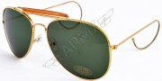 Pilot Sunglasses Aviator - Green