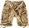 Military Airborne Shorts - Beige